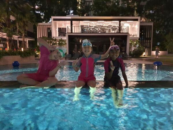 Kids swimming lessons in condominium in Singapore. Contact for kids swimming classes in condominium in Singapore.