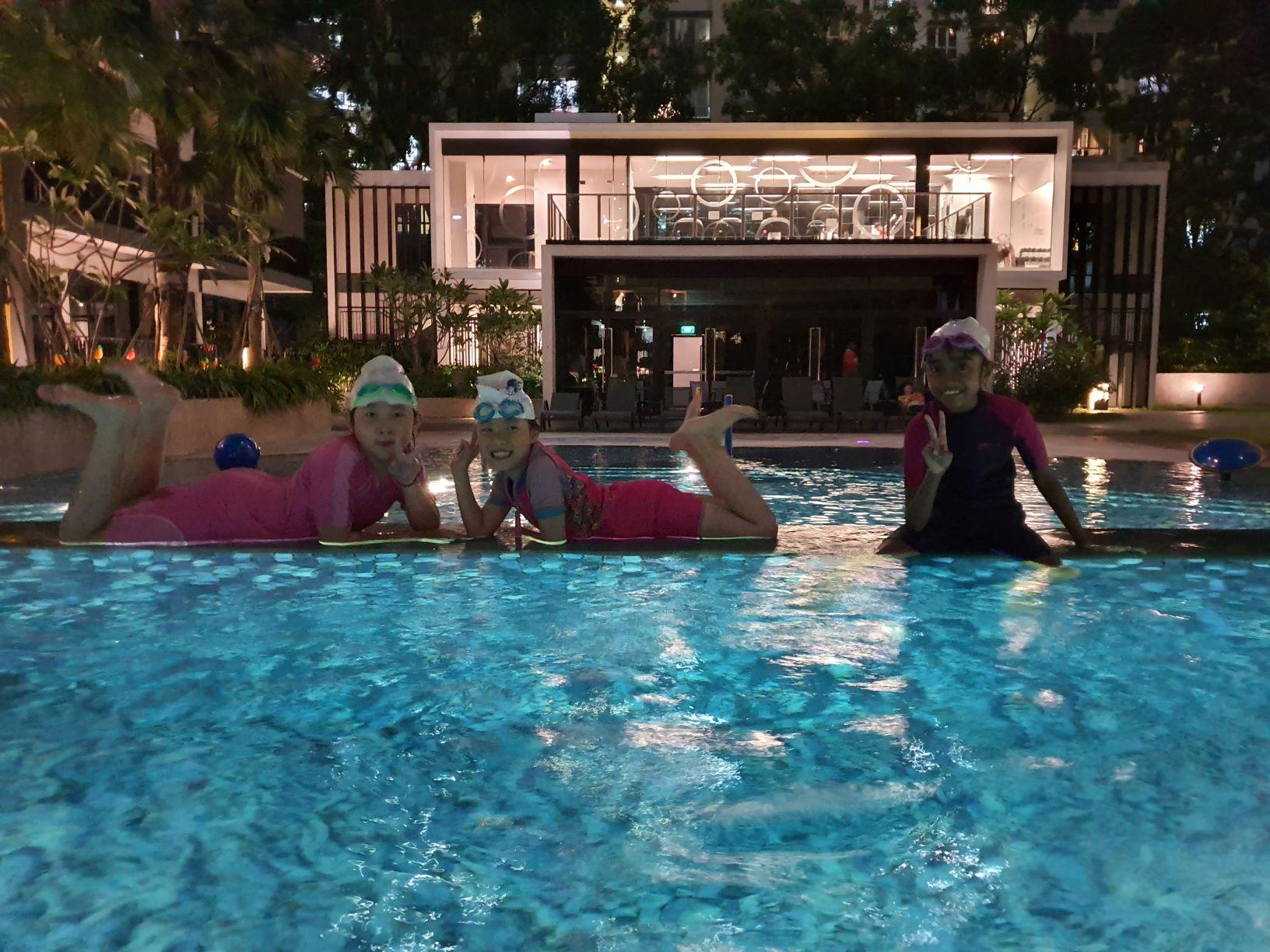 Condo Swimming Lessons. Contact for condo swimming lessons in Singapore. Contact for condominium swimming lessons in Singapore. Kids and Adults swimming classes at condo.